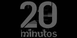 20 minutos - logotipo