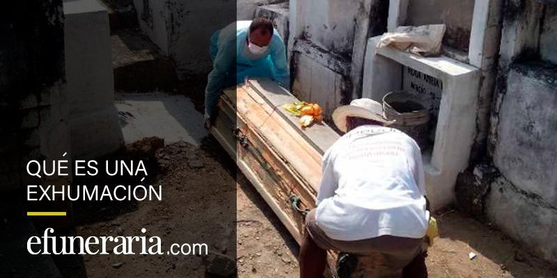 exhumar un cadaver