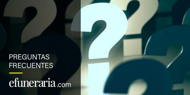 Preguntas frecuentes sobre cuestiones funerarias