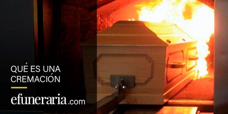 que es una cremacion