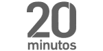 20 minutos logotipo